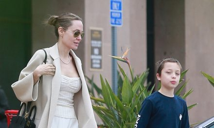 Angelina Jolie Stuns In White Dress Running Errands With Youngest …