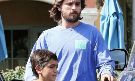 Scott Disick Shows Off Long Hair Makeover During Lunch With Son M.