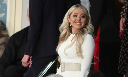Tiffany Trump Wears White To Dad Donald's SOTU Address– Is She S.