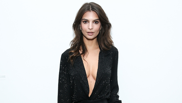 Emily Ratajkowski Flaunts Major Cleavage While Braless In A Blaze …