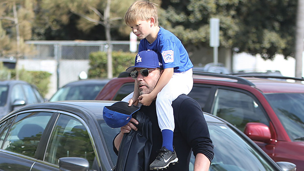 Ben Affleck Is Ultimate Doting Dad While Carrying Son, 7, On Shou …