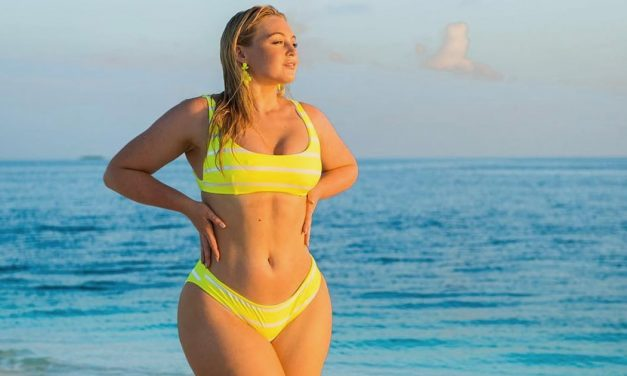 Iskra Lawrence ' s Sexy Neon Bikini Is Brighter Than Every Hig …