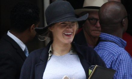 Blake Lively's Baby Bump Is On Full Display While Visiting Ryan R.
