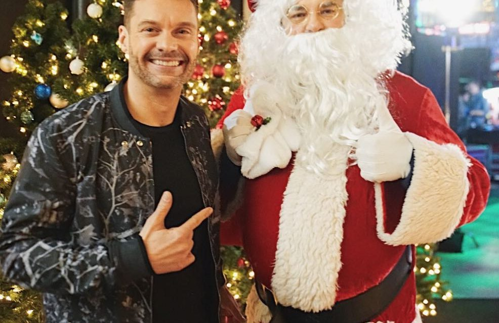 Carpooled with Santa to Thanks for the flight – 5 celebrities! …