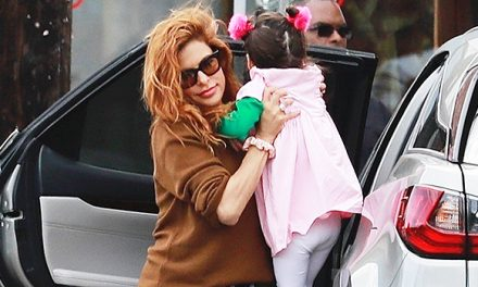 Eva Mendes Carries Daughter Amada, 3, While Running Errands In L. …