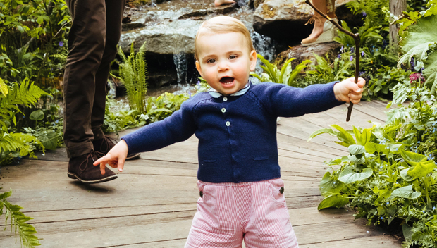 Prince Louis, 1, Already Walking As He Plays With Siblings George …