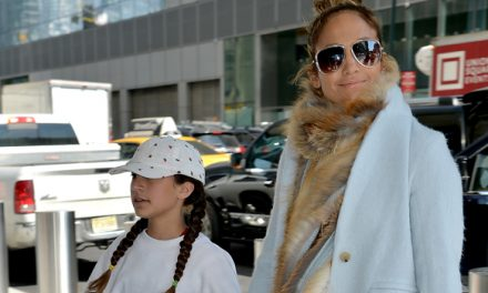 Jennifer Lopez Brings Out Look-AlikeDaughter Emme, 11, For 'Limi …