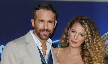 Ryan Reynolds Hugs Pregnant Wife Blake Lively As She Visits Him O.