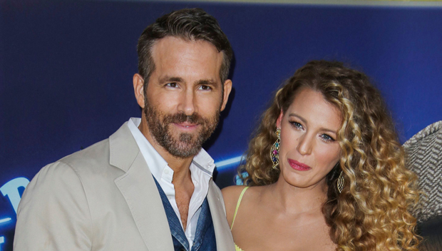 Ryan Reynolds Hugs Pregnant Wife Blake Lively As She Visits Him O.