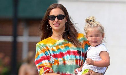 Irina Shayk Smiles With Daughter, 2, After Reaching Custody Agree …